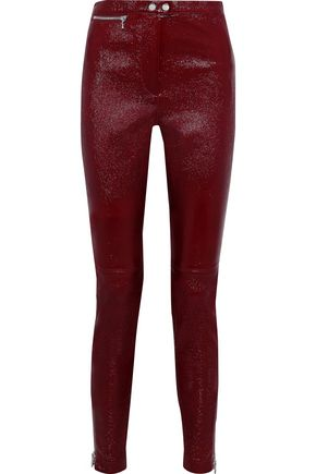 3.1 PHILLIP LIM Patent-leather skinny pants