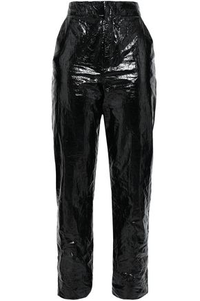 GEORGIA ALICE Vinyl tapered pants