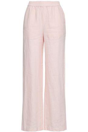 MAJESTIC FILATURES Linen wide-leg pants