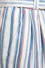 CLAUDIE PIERLOT Pohana striped twill flared pants