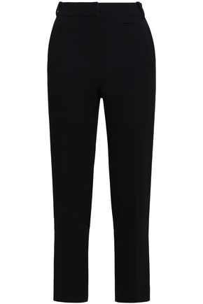 CLAUDIE PIERLOT Crepe slim-leg pants