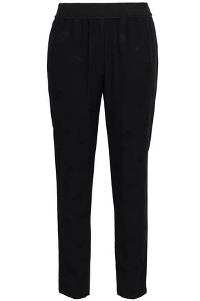 CLAUDIE PIERLOT Crepe straight-leg pants
