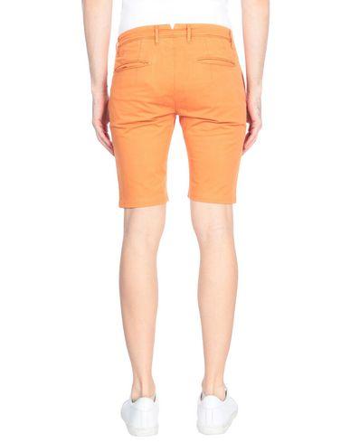 Фото 2 - Мужские бермуды SIVIGLIA WHITE оранжевого цвета
