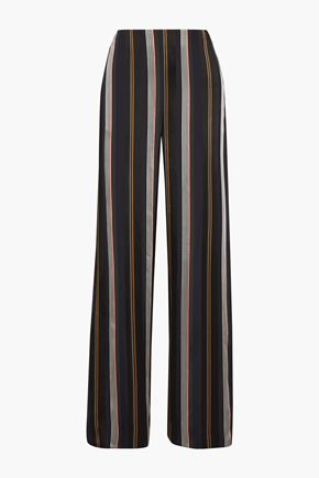 ROKSANDA Arneau striped satin wide-leg pants