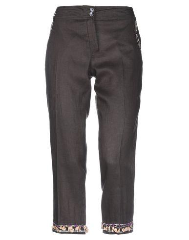 Купить Повседневные брюки от BLUE LES COPAINS темно-коричневого цвета