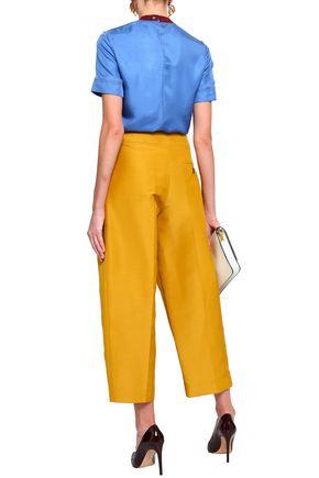 ROKSANDA Cotton-blend culottes