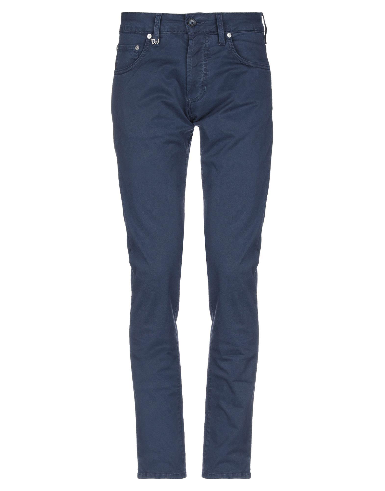 《セール開催中》DW FIVE メンズ パンツ ダークブルー 31 コットン 93% / ポリウレタン 7%