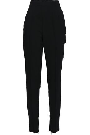 CHRISTOPHER KANE Sliced stretch-crepe tapered pants