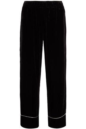 GANNI Chenille wide-leg pants