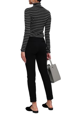 ATM ANTHONY THOMAS MELILLO Mélange knitted slim-leg pants