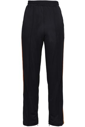 GANNI Stretch-knit straight-leg pants