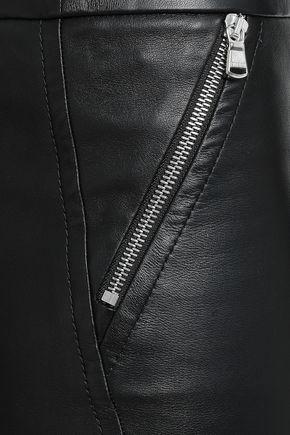 EMILIO PUCCI Leather skinny pants