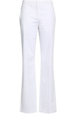 EMILIO PUCCI Cotton-poplin straight-leg pants