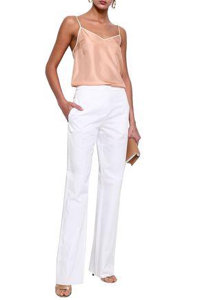 EMILIO PUCCI Cotton-poplin straight-leg pants