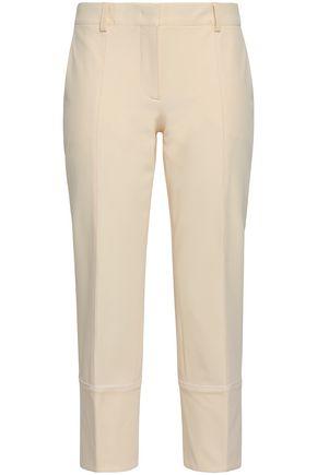 EMILIO PUCCI Cropped twill slim-leg pants