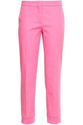 EMILIO PUCCI Stretch-cotton tapered pants