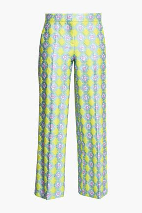 EMILIO PUCCI Brocade straight-leg pants