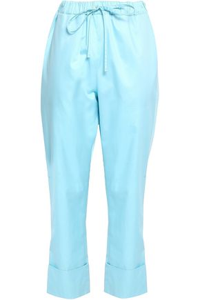 EMILIO PUCCI Cotton-voile straight-leg pants