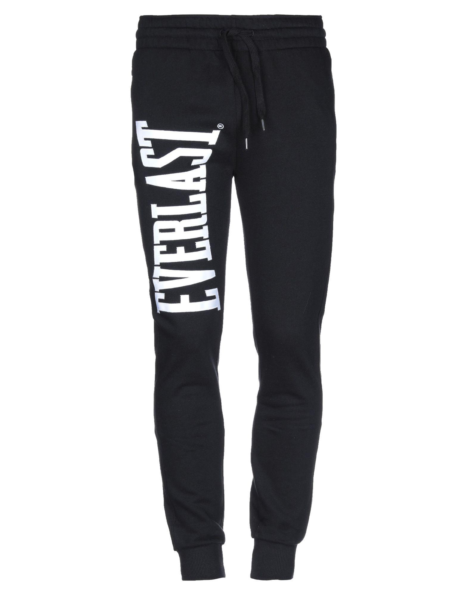 《送料無料》EVERLAST メンズ パンツ ブラック XS コットン 100%