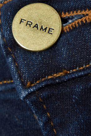FRAME Ali Ankle Cigarette high-rise skinny jeans