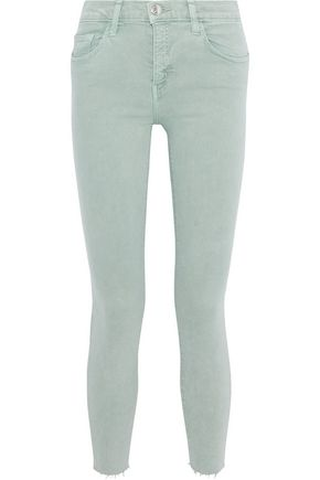 CURRENT/ELLIOTT The High Waist Stilletto mid-rise skinny jeans