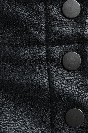 STELLA McCARTNEY Faux leather straight-leg pants