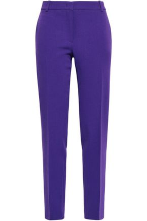 EMILIO PUCCI Stretch-wool crepe slim-leg pants