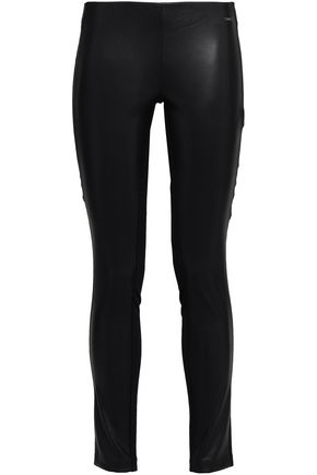 DKNY Leather leggings