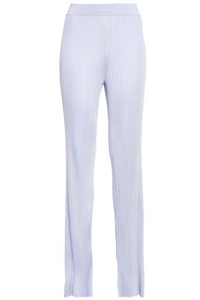 EMILIO PUCCI Ribbed-knit slim-leg pants
