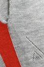 AMANDA WAKELEY Mélange intarsia cashmere track pants