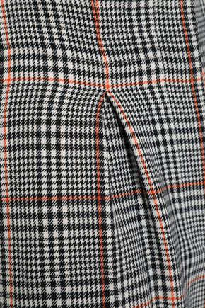 AMANDA WAKELEY Prince of Wales checked stretch-wool wide-leg pants