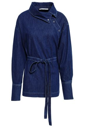 STELLA McCARTNEY Belted denim blouse
