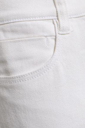 DKNY High-rise slim-leg jeans