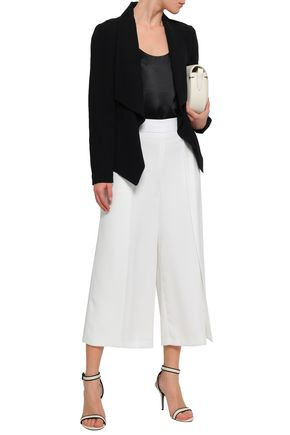 DKNY Pleated cady culottes