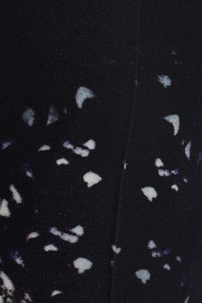 ROBERTO CAVALLI Printed crepe straight-leg pants