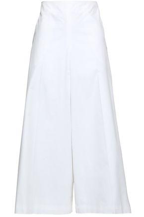 DELPOZO Cotton-poplin culottes