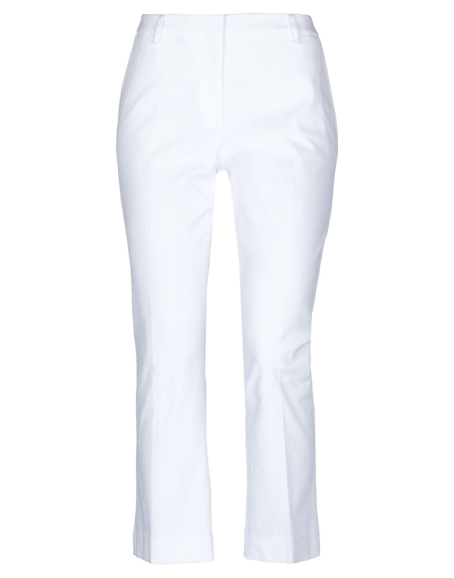 《セール開催中》ROOM 52 レディース パンツ ホワイト 42 コットン 97% / ポリウレタン 3%