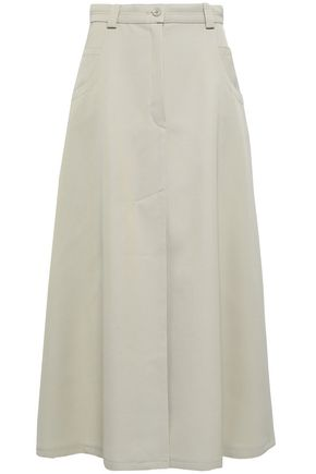NINA RICCI Flared wool midi skirt