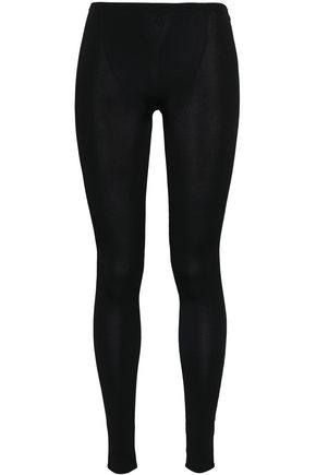 VALENTINO Stretch-jersey leggings