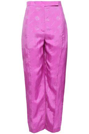 NINA RICCI Jacquard tapered pants