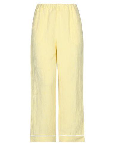 Фото - Повседневные брюки от MOMONÍ светло-желтого цвета