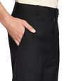 LANVIN Pants Man FITTED BLACK WOOL PANTS   f