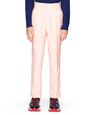 PALE PINK WOOL AND MOHAIR PANTS    - Lanvin