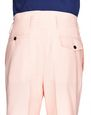 LANVIN Trousers Man PALE PINK WOOL AND MOHAIR PANTS    f