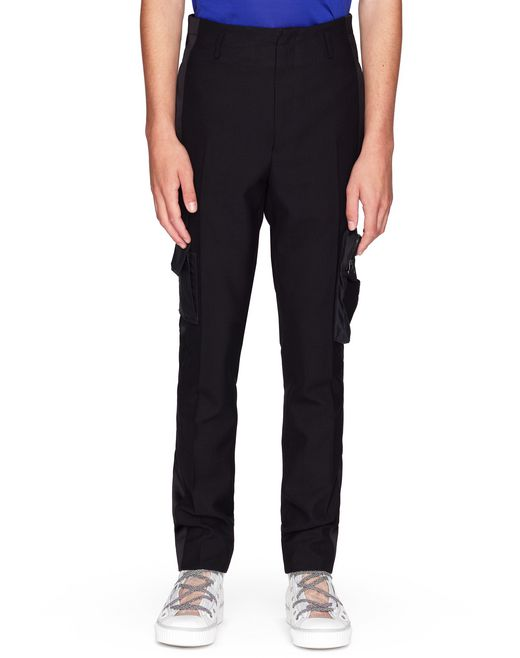 SKINNY SATIN BAND PANTS   - Lanvin