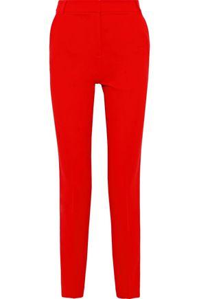 TIBI Crepe slim-leg pants