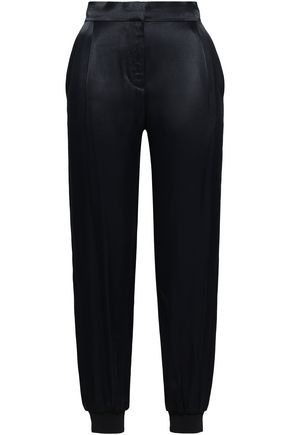 ZIMMERMANN Satin-crepe tapered pants