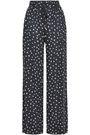 ZIMMERMANN Printed crepe wide-leg pants