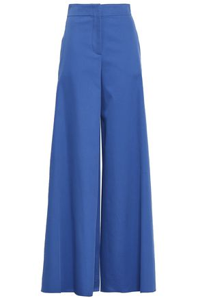 EMILIO PUCCI Stretch-cotton twill wide-leg pants