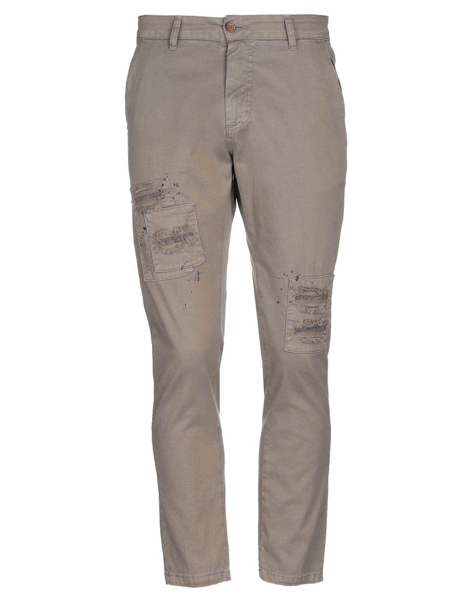 《期間限定セール中》WEBB ART OF WEAR メンズ パンツ グレー 46 コットン 98% / ポリウレタン 2%